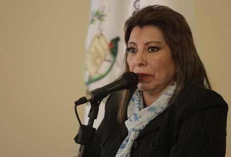 Anabella de León, registradora general, señala a magistrados y jueces de ilícito.
