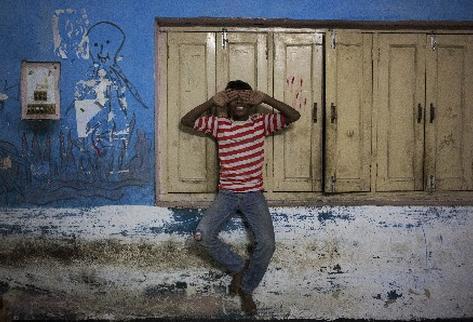 Joven originario de Bihar, uno de los estados más pobre de la India. (Foto Prensa Libre: AP)