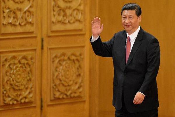 El entonces vicepresidenta chino, Xi Jinping, en 2012 en Pekín. Xi  Jinping llegó al poder ese año en el Congreso de noviembre, desde el que  se han celebrado tres plenos del Partido Comunista. (Foto Prensa Libre:  AFP)