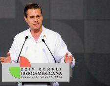 Enrique Peña Nieto, mandatario mexicano.