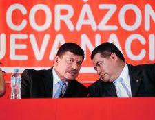En mayo, Bernal y Chú Catalán fueron proclamados candidatos a la presidencia por CNN, ahora se retiran y apoyarán a Líder. (Foto Prensa Libre: Hemeroteca)