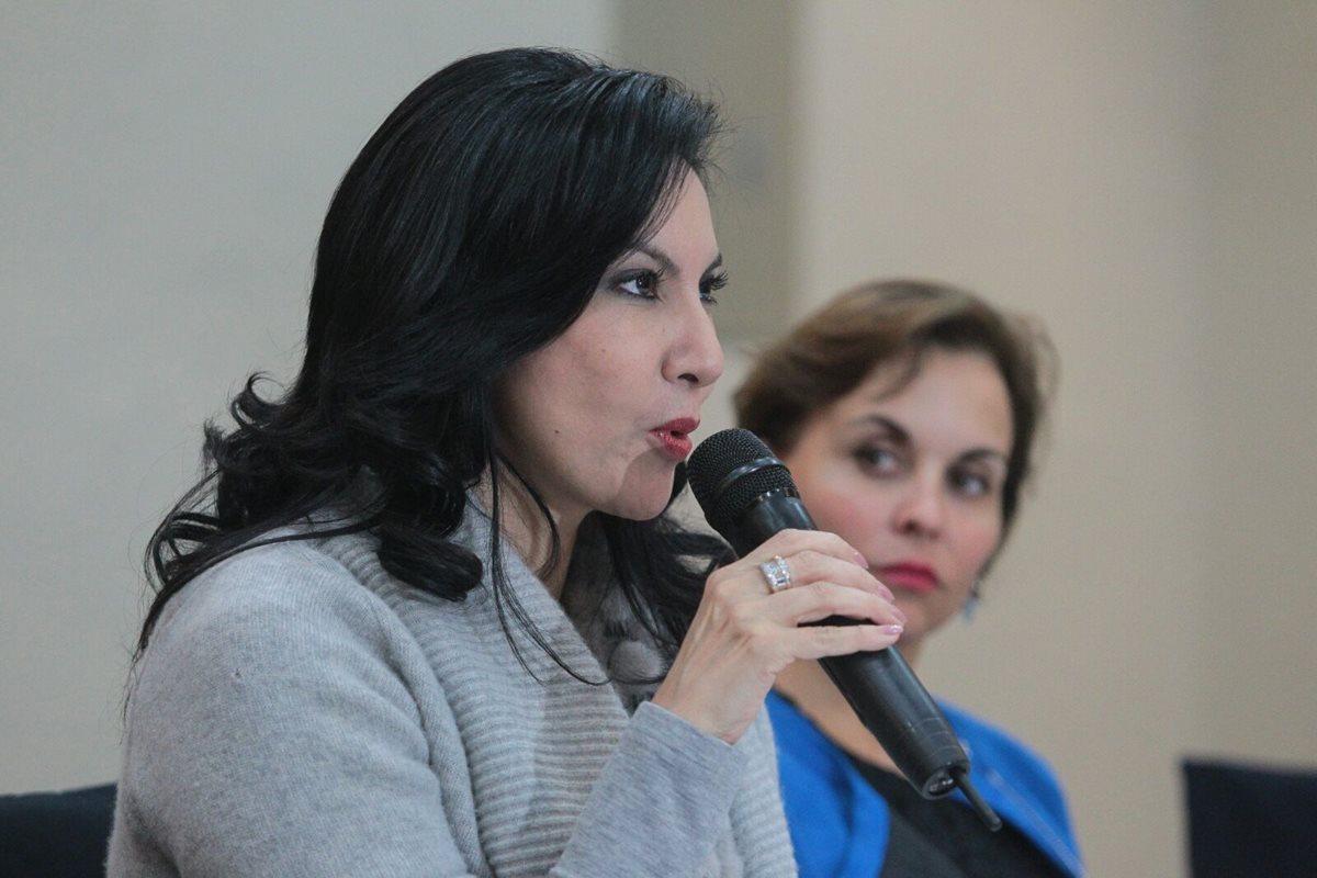 Zury Ríos eleva proceso de inscripción a la CSJ