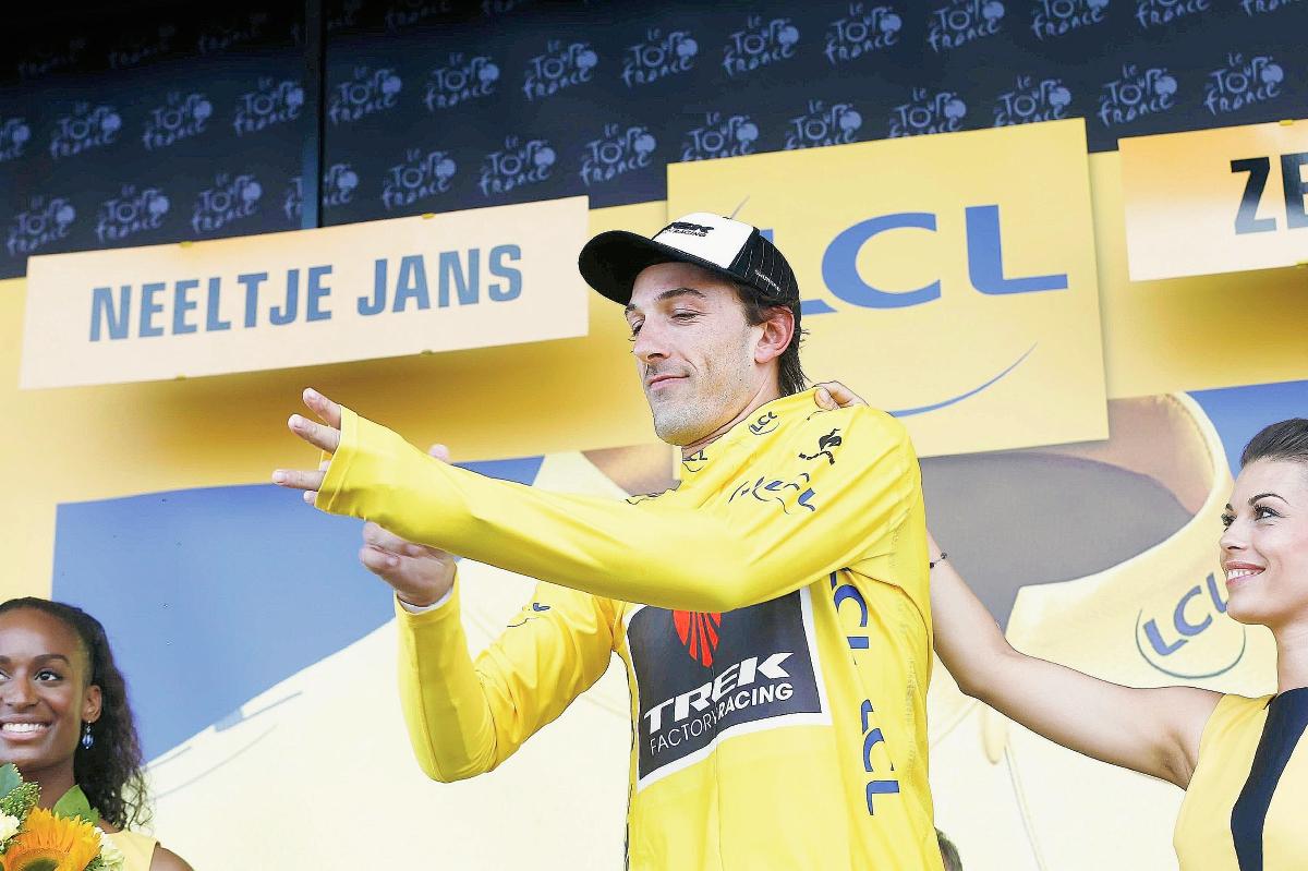 Cancellara, nuevo líder del Tour y Quintana pierde tiempo
