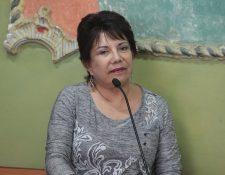 La magistrada del TSE, María Eugenia Mijangos considera que aprobación de reformas electorales van en buen camino. (Foto Prensa Libre: Hemeroteca PL)
