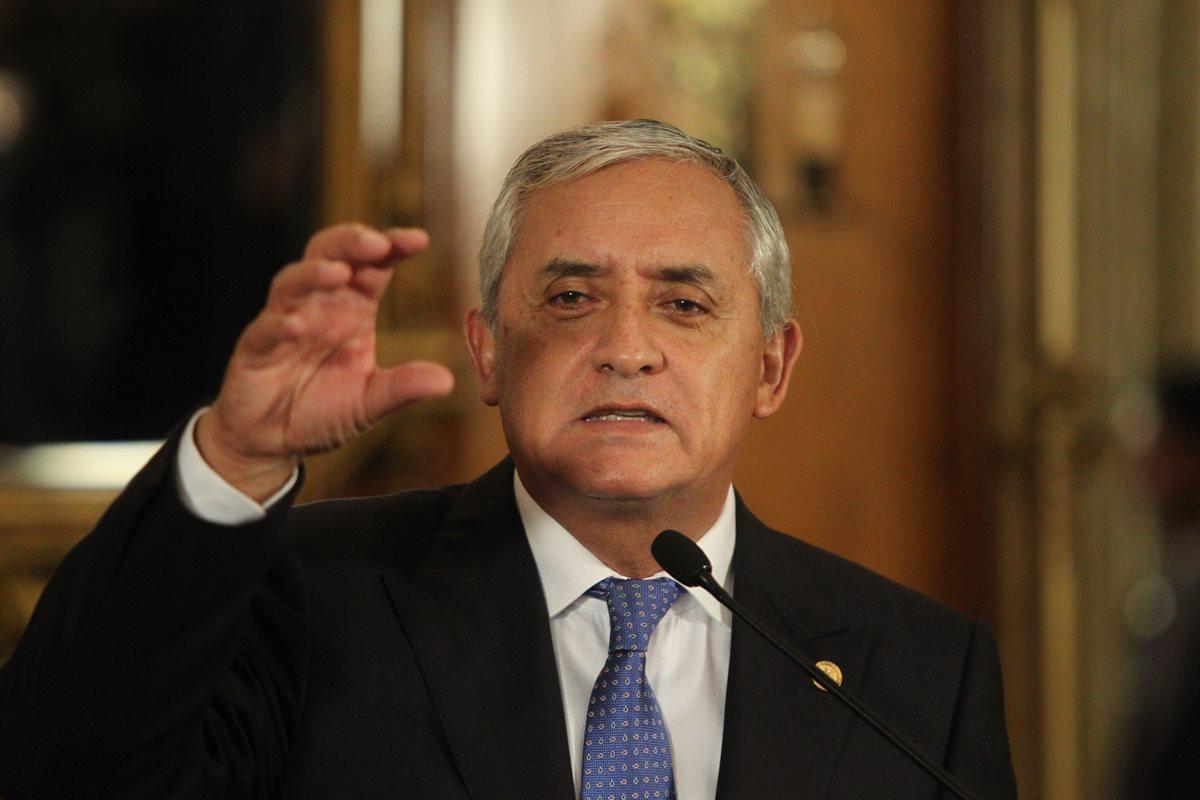 Otto Pérez Molina en la historia de Guatemala