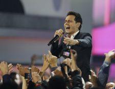 El cantante de de origen puertorriqueño se presentará en el país este 5 de diciembre, en el Estadio del Ejército. (Foto Prensa Libre: AP)