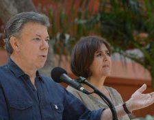 Juan Manuel Santos, presidente de Colombia. (Foto Prensa Libre: AFP).