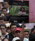 El crimen de la ambientalista desató una ola de indignación en Honduras y el mundo. (Foto Prensa Libre: EFE).