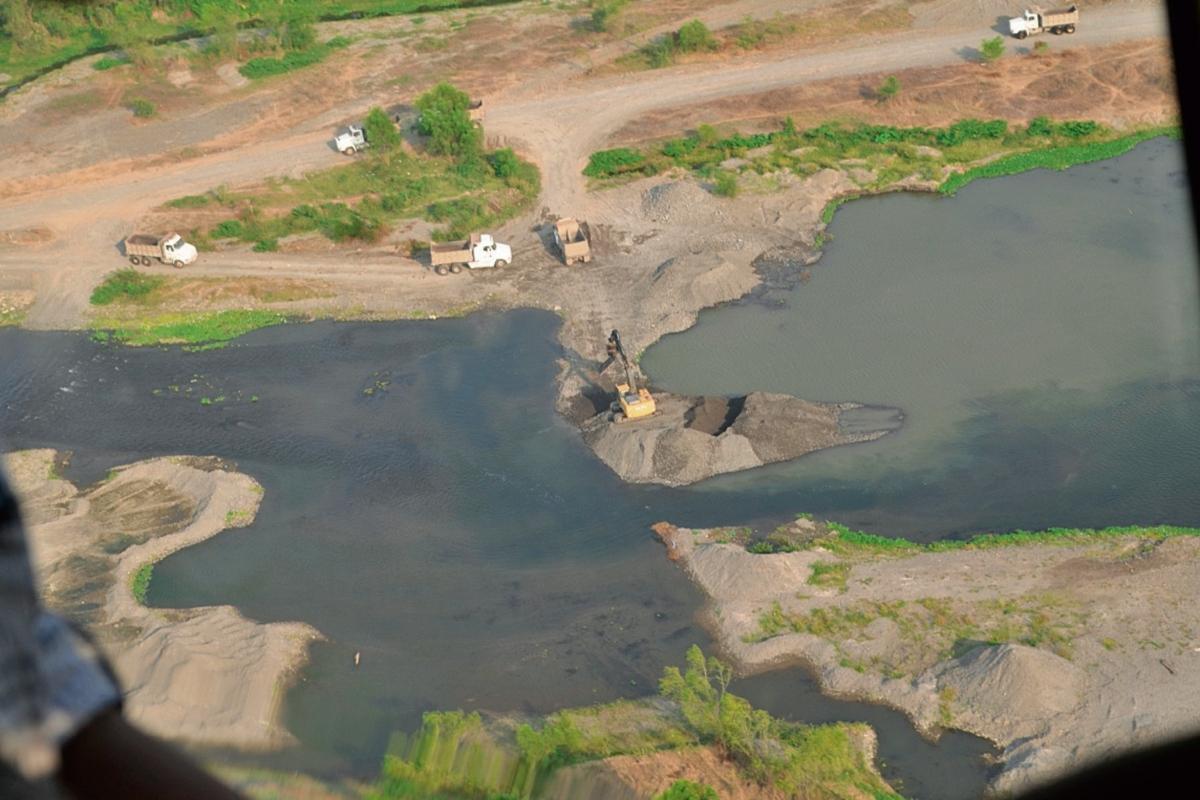 MARN denuncia a empresas por desvío de ríos
