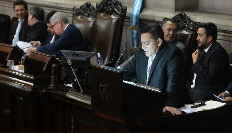 Édgar Cristiani fue miembro de la Junta Directiva del Congreso en 2015-2016. (Foto Prensa Libre: Hemeroteca)