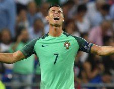 Entre los récords que posee Ronaldo se encuentra el de ser el máximo goleador de Portugal. (Getty Images)