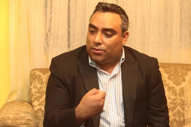 Luis Lima hermano de Byron Lima no cree en la versión de las autoridades sobre lo ocurrido en Pavón. (Foto Prensa Libre: Álvaro Interiano)