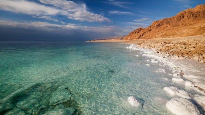 El Mar Muerto es un muy salado, pero no es mar. THINKSTOCK
