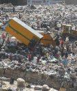El Ministerio de Ambiente emplazó a la comuna capitalina para que cierre el relleno sanitario en la zona 3. (Foto Prensa Libre: Hemeroteca PL)