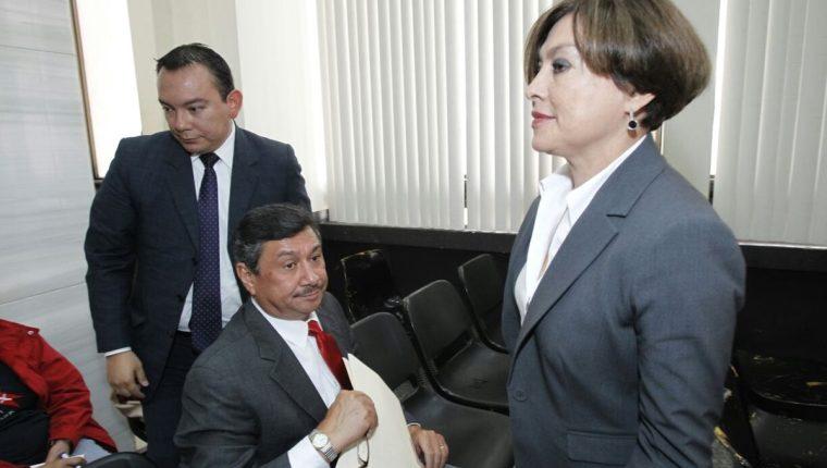 María Antonieta de Bonilla ofrece su testimonio por el caso Bancafé, en el Juzgado Undécimo Unipersonal. (Foto Prensa Libre: Paulo Raquec)