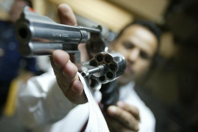 Se reduce registro de armas en el Digecam