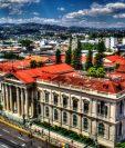 Palacio de gobierno de El Salvador, atacado por guerrilleros en septiembre de 1979. (Foto Prensa Libre: internet)