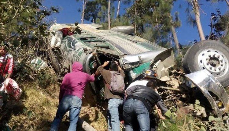 La ruta Interamericana es una de las que más percances registra. (Foto Prensa Libre: Hemeroteca PL)