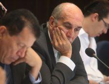 Mario Taracena buscaba un segundo período al frente del Organismo Legislativo. (Foto Prensa Libre: Álvaro Interiano)