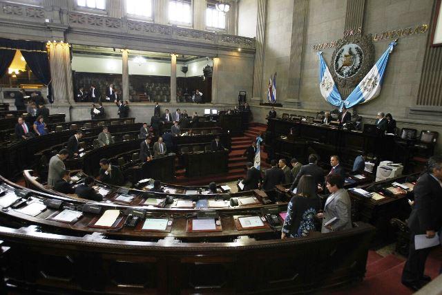 Una de las tareas importantes del Congreso en el comienzo de la legislatura será la integración de las 35 comisiones. (Foto Prensa Libre: Hemeroteca PL)