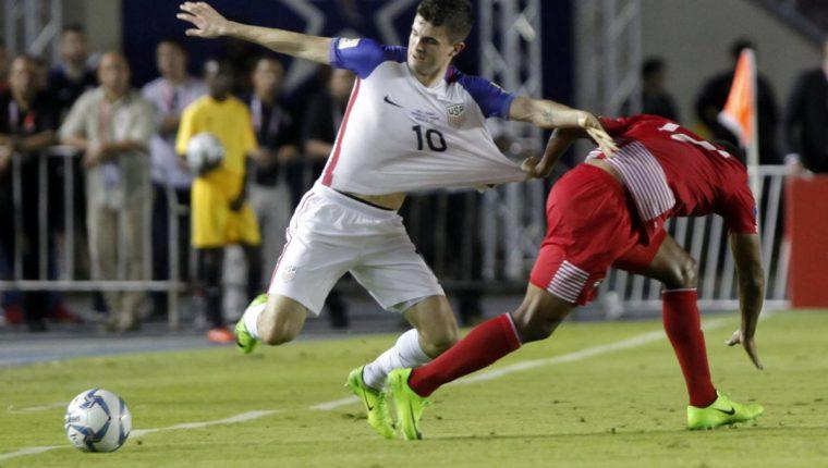 Panamá y Estados Unidos terminaron empatados en el duelo que sostuvieron en el Rommel Fernández. (Foto Prensa Libre: AFP)