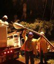 La iluminación podría ayudar en la prevención de accidentes. (Foto Prensa Libre: Estuardo Paredes)