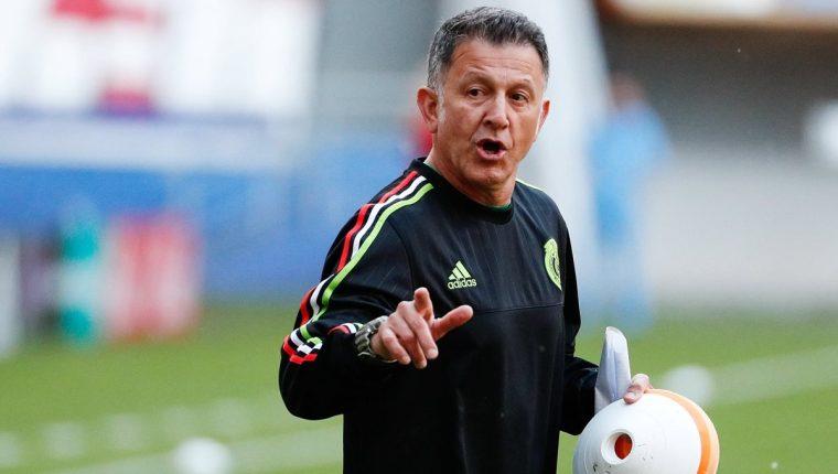 Osorio tendrá un difícil debut frente a la selección lusa el sábado. (Foto Prensa Libre: EFE)