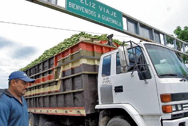 En el 2016 se habilitó la ruta comercial para la Unión Aduanera entre Guatemala y Honduras. (Foto, Prensa Libre: Hemeroteca PL)