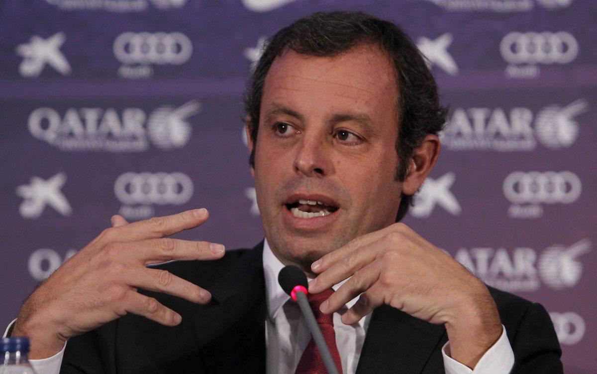 Jueza niega fianza a expresidente del Barcelona