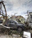 La Isla de San Martín es uno de los lugares en los que el huracán Irma ha causado más destrucción. (Foto Prensa Libre: AFP)