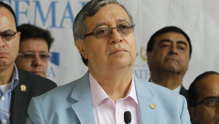 El vicepresidente Jafeth Cabrera se refirió a la situación que viven los migrantes guatemaltecos en EE.UU. ante la cancelación del programa DACA. (Foto HemerotecaPL)