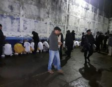 25 internos de Gaviotas, quienes supuestamente ya fueron sancionados por un juez de menores en conflicto con la Ley, han sido trasladados al correccional Etapa 2. (Foto Prensa Libre: Cortesía)