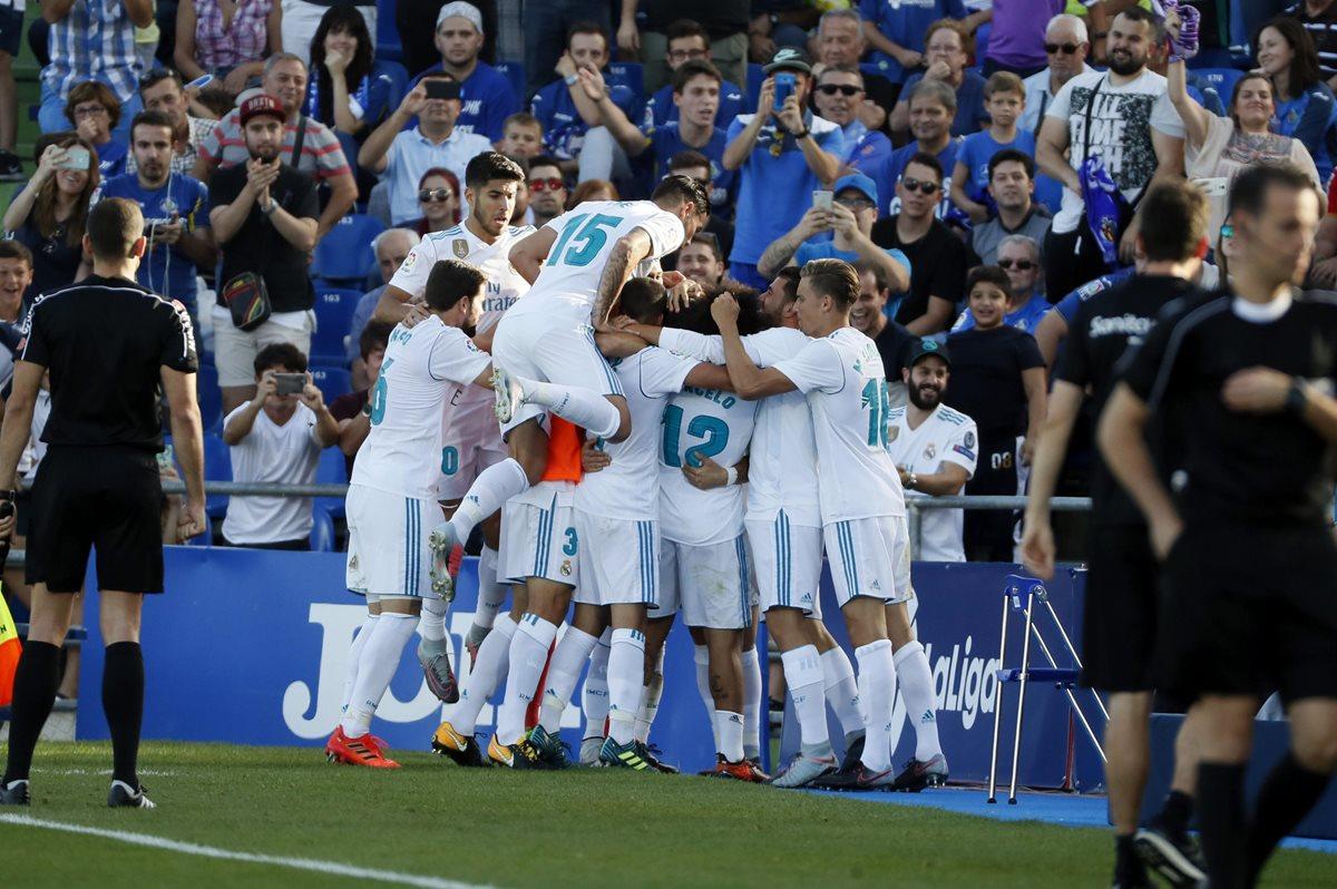 Cristiano salva al Real Madrid frente al Getafe y marca su primer gol en La Liga 2017-2018
