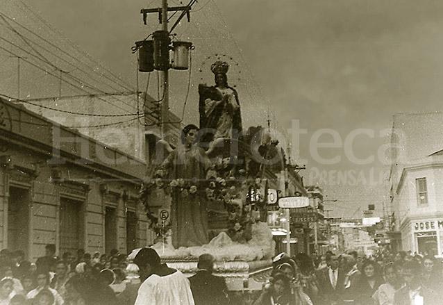 Procesión de la Virgen de Concepción cumple 400 años