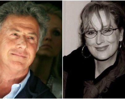 Dustin Hoffman es acusado por Meryl Streep por sus comportamientos inapropiados durante la grabación de la película Kramer vs. Kramer. (Foto Prensa Libre: Facebook)