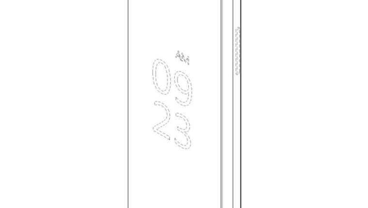 Una pantalla plegable sería la nueva opción en los teléfonos (Foto Prensa Libre: LG).