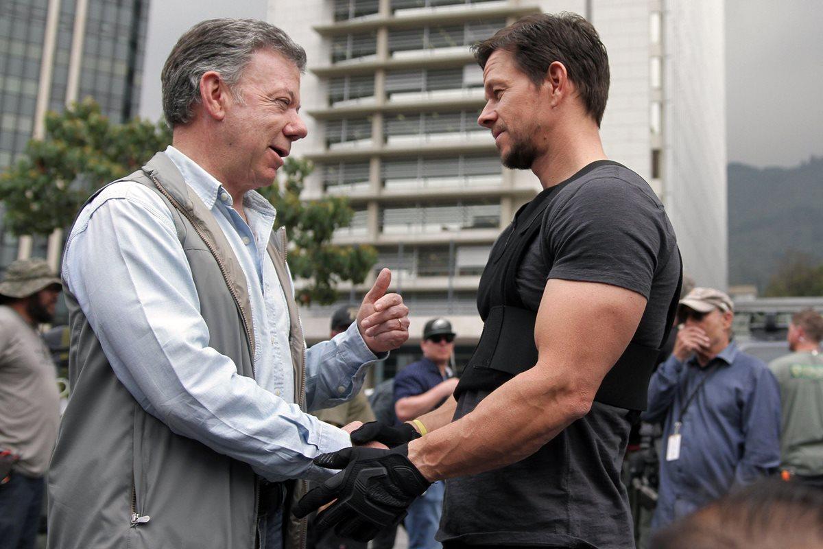 Mark Wahlberg queda fascinado de Colombia, donde graba película