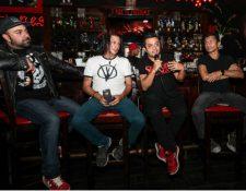 """La banda guatemalteca Viernes Verde promociona las canciones del disco """"La ruta"""". (Foto Prensa Libre: Keneth Cruz)"""