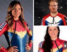 Atletas se visten de superhéroes para competir en los Juegos Olímpicos de Invierno de Pieongchang. (Foto Prensa Libre: Instagram usskiteam)