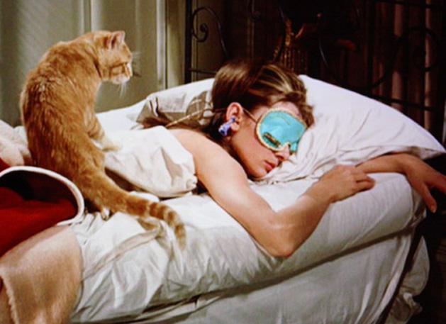 Los gatos también han sido protagonistas en el cine (Foto Prensa Libre: Breakfast at Tiffany's).