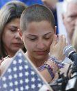 Emma Gonzalez se convirtió en uno de los rostros de la lucha por el control de armas de los EE. UU.. (AFP).