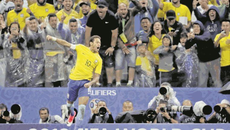 Neymar es uno de los incondicionales de Tite en la selección brasileña. (Foto Prensa Libre: Hemeroteca PL)