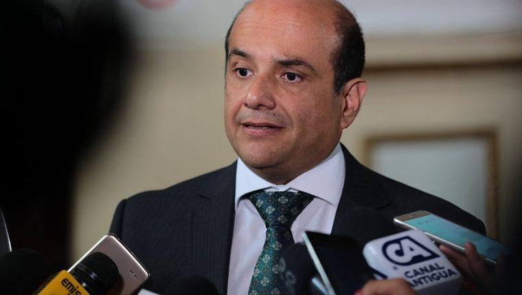 Carloz Rolando Narez Noriega, secretario de Conamigua electo. (Foto Prensa Libre: Álvaro Interiano).
