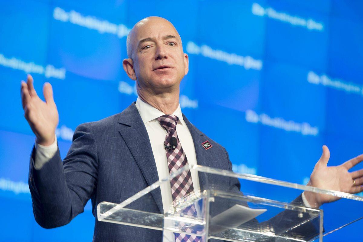 Jeff Bezos es el más rico del mundo, con US$112 mil millones, según Forbes