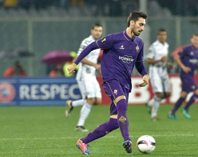 Davide Astori se convirtió en una leyenda de la Fiorentina. (Foto Prensa Libre: AFP)