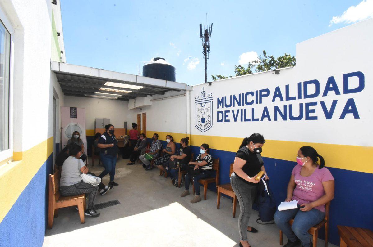 Municipalidad de Villa Nueva invierte en el bienestar de los vecinos