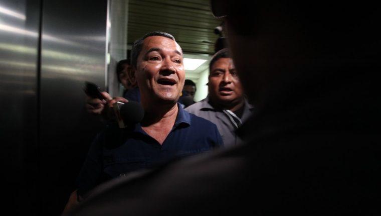 Waldemar Lorenzana Cordón en Torre de Tribunales de Guatemala en 2014. (Foto Prensa Libre: Hemeroteca PL).