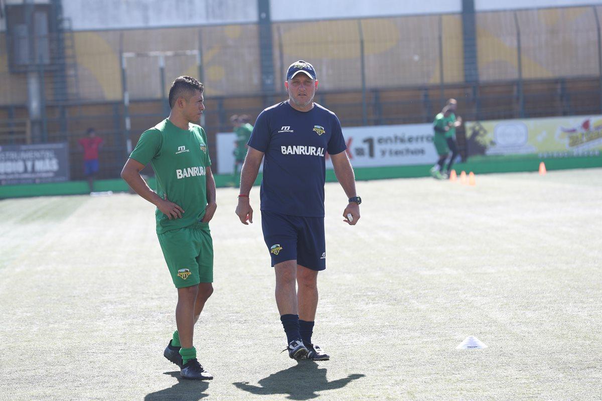 Ramiro Cepeda es el nuevo técnico de Xelajú MC