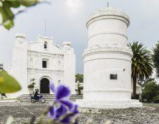 A principios de la centuria pasada, el arquitecto italiano Albani ayudó a reconstruir la iglesia del Cerrito del Carmen. Foto Prensa Libre: Gigi Chang