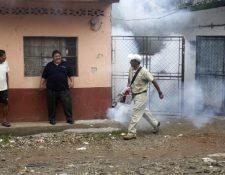 Jornada de deschatarrización en Quetzaltenango, con la que se pretende erradicar criaderos del zancudo transmisor del dengue. (Foto Prensa Libre: Fred Rivera)